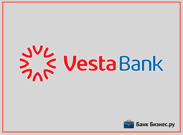 Открытие счета в банке Веста