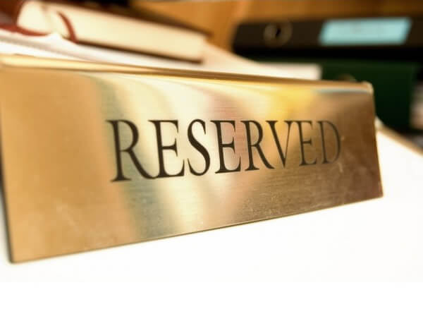 Резервирование расчетного счета