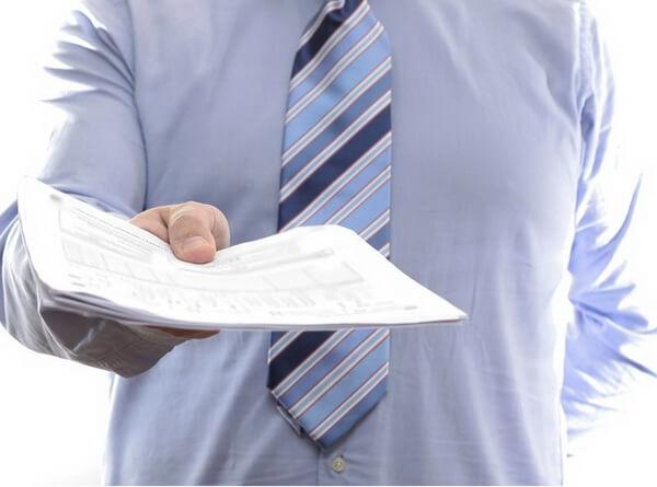 Уведомление о расчетном счете в банке